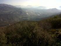Vista des del cim del Menejador